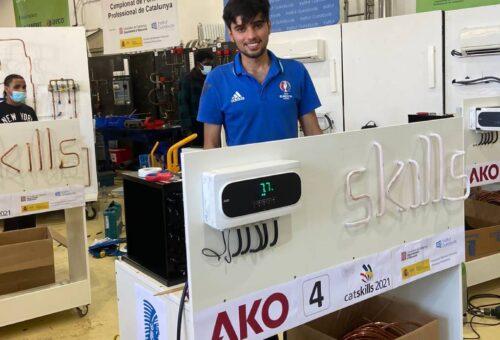 M. A. trabajador de Ilerfred gana la CatSkills de refrigeración
