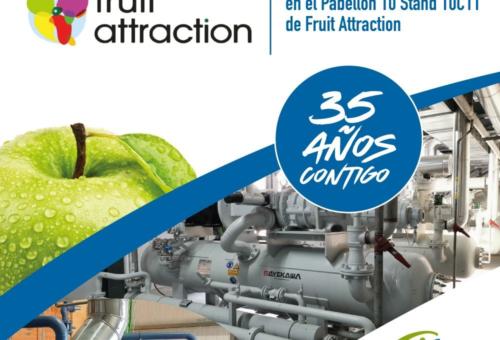 ILERFRED, el especialista en sistemas de preenfriamiento rápido de frutas y hortalizas en Fruit Attraction 2021